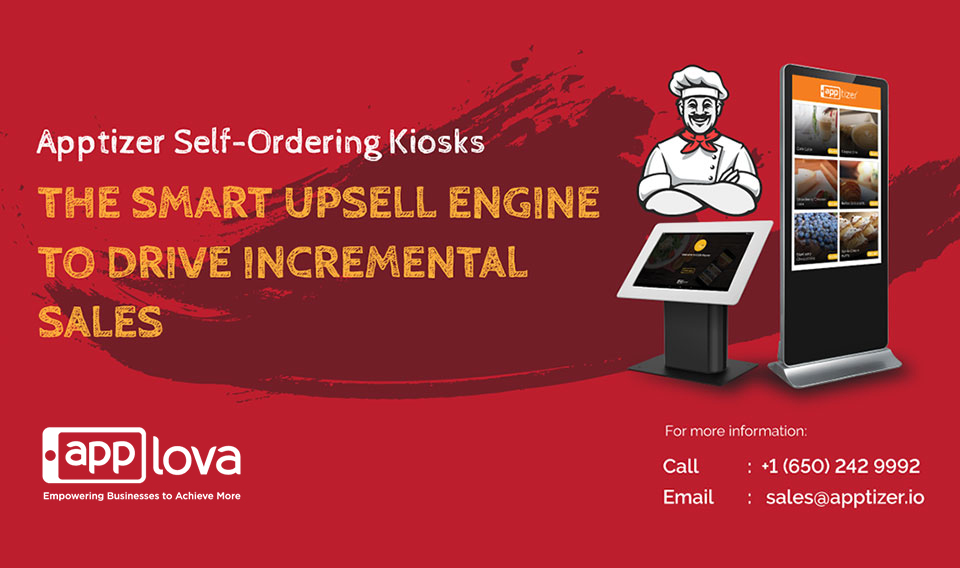 Apptizer Self-Ordering Kiosks, Elevating Your Customer Experience!