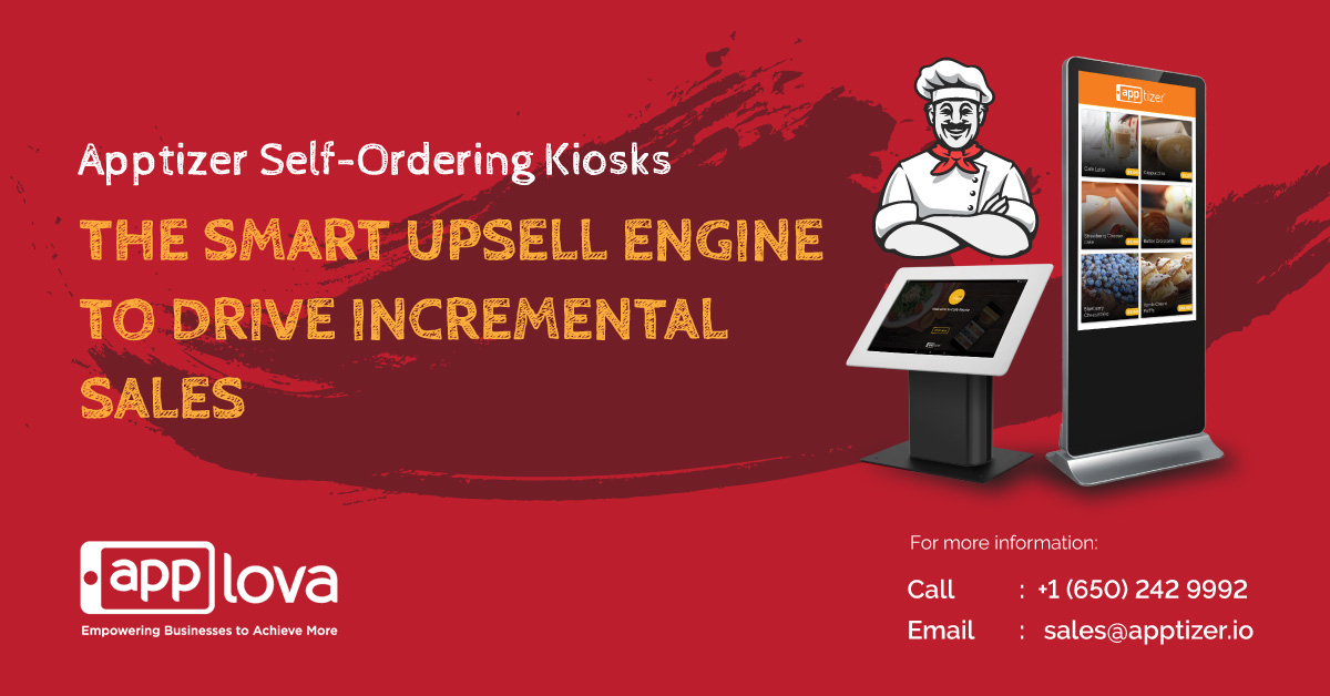 Apptizer Self-Ordering Kiosks, Elevating Your Customer Experience