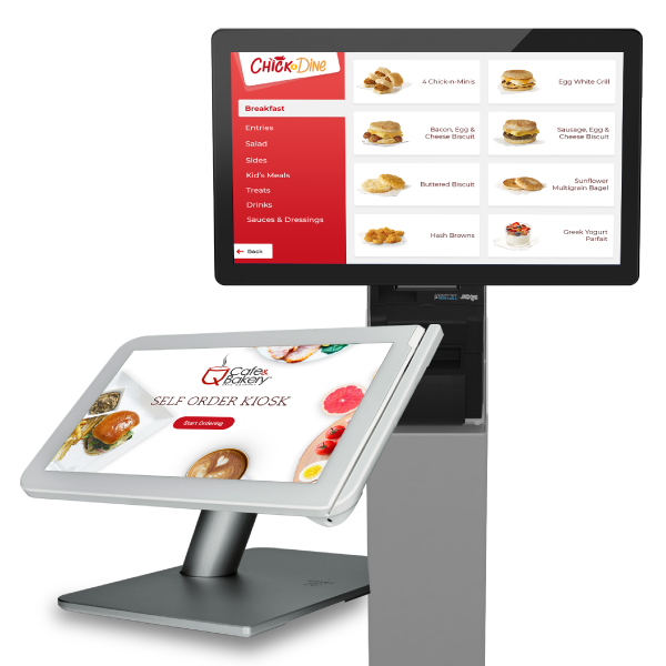 Food truck self-ordering kiosks from Apptizer