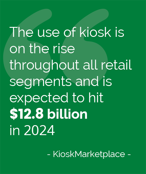 The use of kiosk quotes